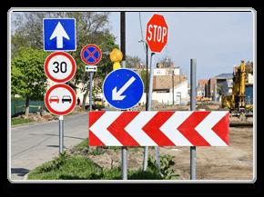 Разработка проекта организации дорожного движения ПОДД